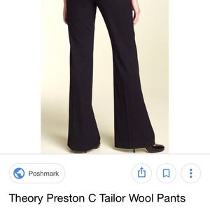 "Theory ""Preston C"" black pants"